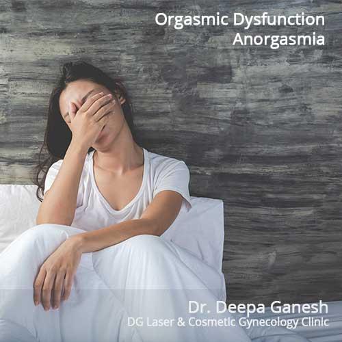 Orgasmic Dysfunction - Anorgasmia - Treatment Chennai